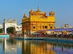 La Harmandir Sinjoro de Amritsar