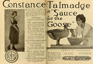 <i>Sauce for the Goose</i> 1918 film by Walter Edwards