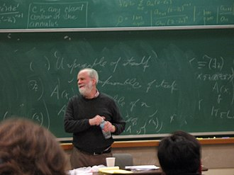 Saul Kripke - Saul Kripke gives a lecture about Gödel at the University of California, Santa Barbara.