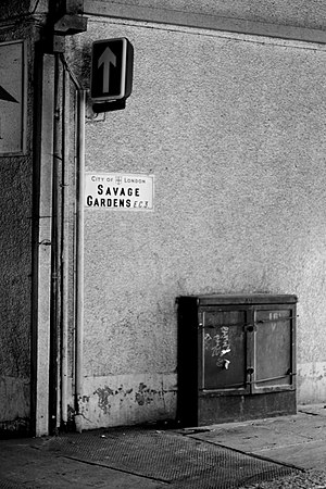 Savage Gardens - The northern corner of Savage Gardens