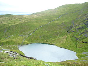 Blencathra - Scales Tarn, beneath Sharp Edge on Blencathra
