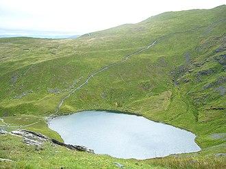 Blencathra - Scales Tarn, beneath Sharp Edge on Blencathra
