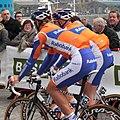 Scheldeprijs 2012, Dennis VanWinden & Jos VanEmden (7117455271).jpg