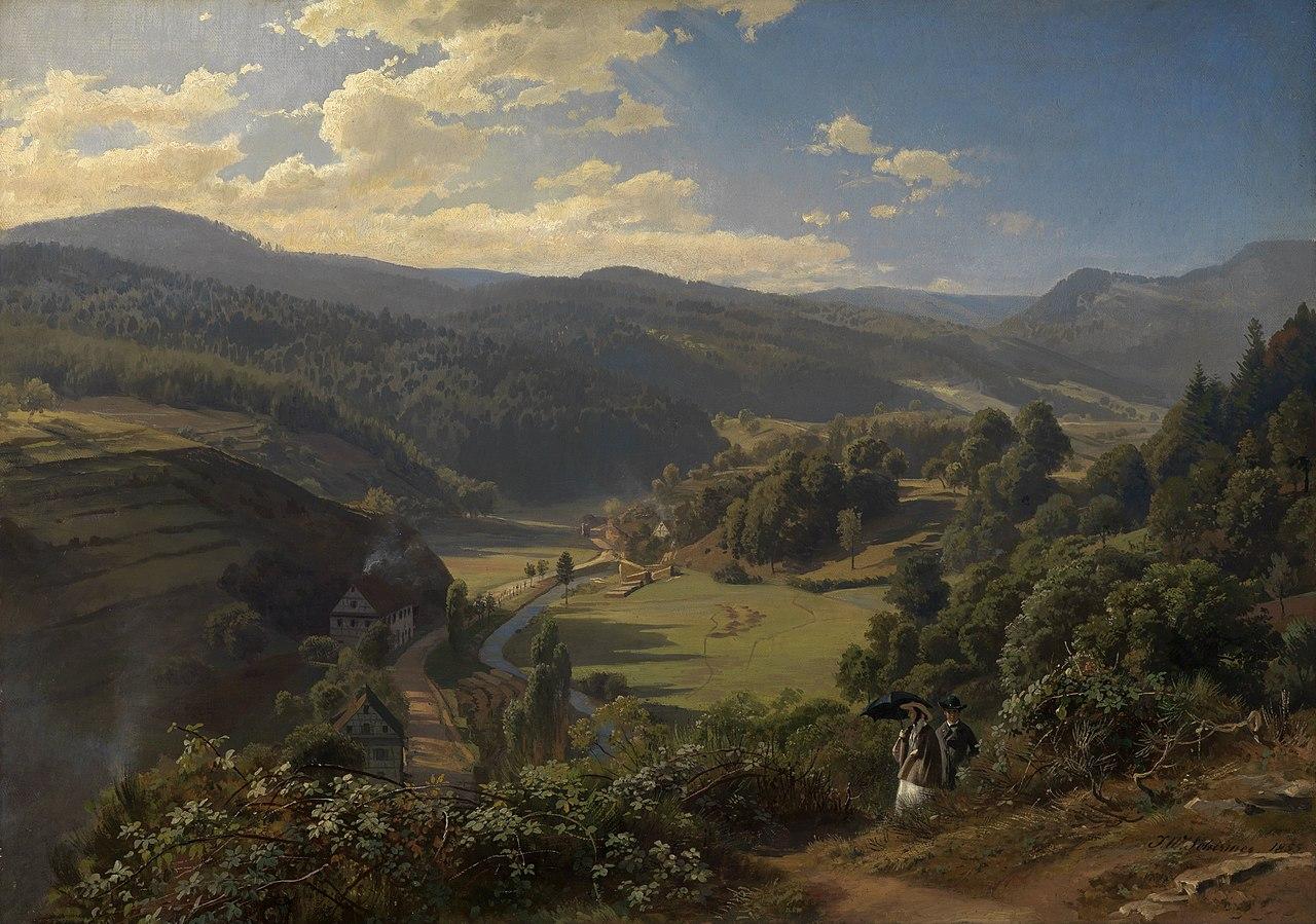 Schirmer Das Geroldsauer Tal bei Baden-Baden 1855.jpg
