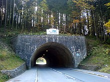 Schliersee (Ort) — Tunnel in Richtung Spitzingsee.jpg