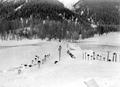 Schneeschanze mit Treffern vorder- und hinterhalb - CH-BAR - 3239406.tif