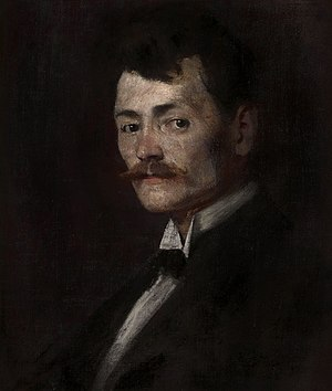 Alfred Marzolff - Portrait of Alfred Marzolff by Émile Schneider