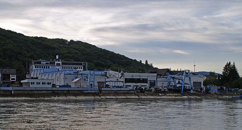 Hauptsitz der Schottel GmbH in Spay (wikipedia commons)