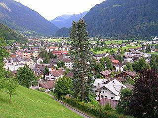 Schruns Place in Vorarlberg, Austria