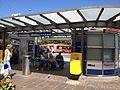 Schwanenplatz bus shelter.JPG