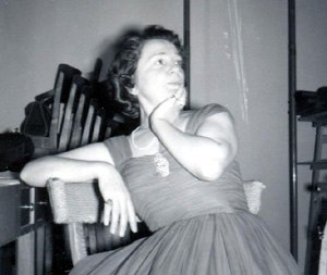 Hjördis Schymberg - Hjördis Schymberg photographed after a concert in 1962