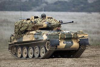 Royal Tank Regiment - Image: Scimitar Light Tank MOD 45149231