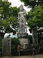Sculpture of Jiko-Kannon in Nyoirinji Temple.jpg
