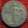 Scuola romana, medaglia di giulio III, annona.JPG