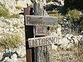 Señalización en el sendero del Cristo de La Vida - panoramio.jpg