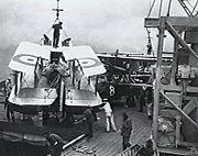 Seagull III folded HMAS Albatross AWM P01817.012