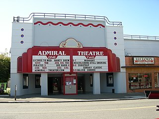 Admiral Theater movie theater in Seattle, Washington, United States