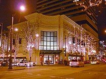 Seattle - Coliseum Theater at night 01.jpg