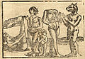 Sebastian Münster, Illustrations of monstrous humans from Cosmographia (1544).jpg