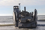 Second Tanks crashes Onslow Beach 130301-M-RW232-044.jpg