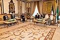 Secretary Blinken Meets with Kuwaiti Amir Sheikh Nawaf Al-Ahmed Al-Jaber Al-Sabah and Kuwaiti Crown Prince Sheikh Mishal Al-Ahmed Al- Sabah (51346055393).jpg