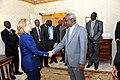 Secretary Clinton Shakes Hands With Sudanese Vice President Ali Osman Taha.jpg