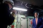Secretary Kerry Listens as U.S. Navy Captain Patterson Addresses His Crew (22307198793).jpg