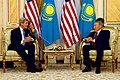 Secretary Kerry Meets With Kazakhstan President Nazarbayev in Astana (22513577630).jpg
