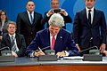 Secretary Kerry Signs an Accession Protocol to Continue Montenegro's Admission to NATO in Brussels (27113868575).jpg