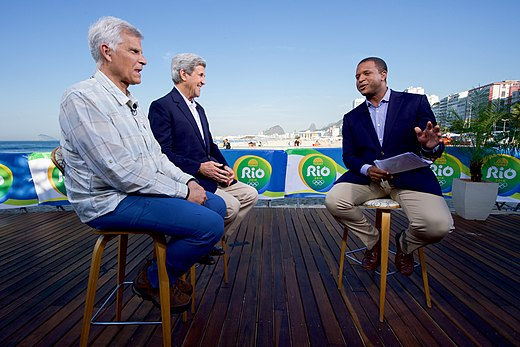 Secretary Kerry Sits With Olympic Gold Medal Swimmer Mark Spitz During An Interview With NBC's Craig Melvin (28698837142).jpg