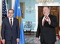 Secretary Pompeo Meets with Kosovo Prime Minister Avdullah Hoti (50305041478).jpg