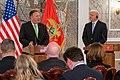 Secretary Pompeo Participates in a Press Availability in Montenegro (48844159151).jpg