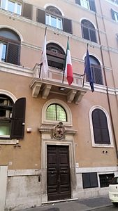 Sede CRI a Roma, Via Toscana.jpg