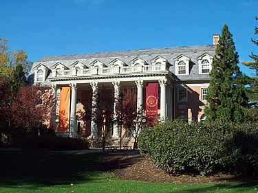 Seibert Hall, listed on the National Register of Historic Places in 1979. Seibert Hall Oct 09.JPG