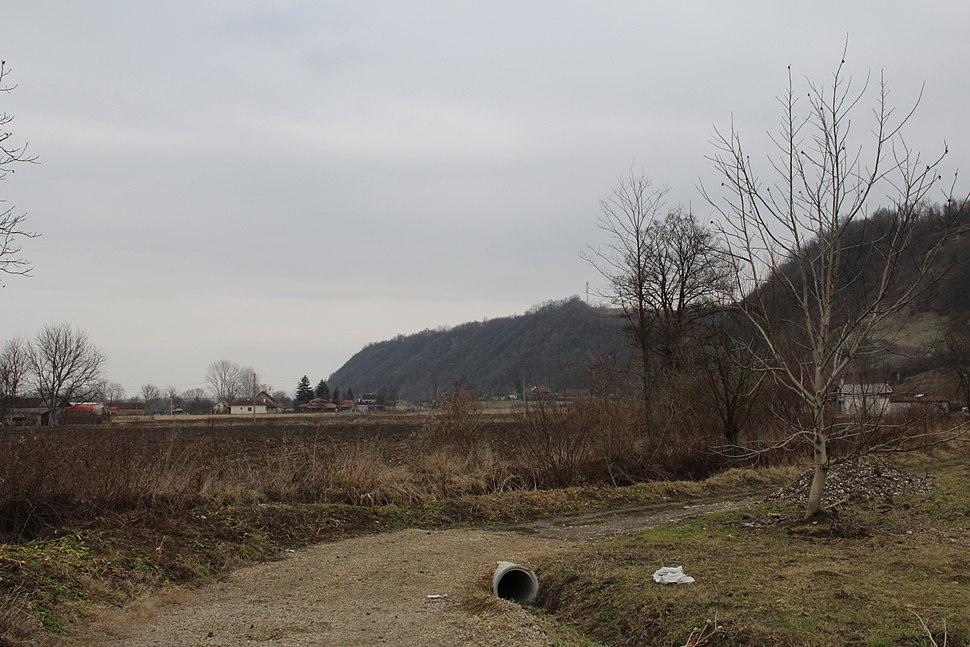 Selo Mrčić - opština Valjevo - zapadna Srbija - reka Banja 2