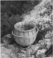 Seminole Coiled Sweet Grass Button Basket. - NARA - 281626.tif