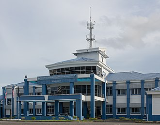 Marine Operations Force - Malaysian Marine police headquarters in Semporna, Sabah.