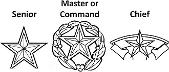 Badges of the United States Air Force - Air Force skill level badge symbols