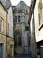Senlis (60), ancienne église St-Aignan, façade nord depuis la rue du Four (1).jpg