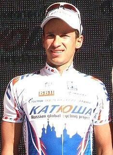 Sergey Klimov (cyclist) Russian cyclist