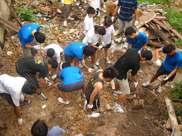 A service learning project in Batam, Indonesia.