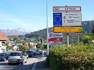 Seynod Part of Annecy in Auvergne-Rhône-Alpes, France