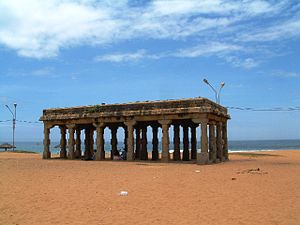Shankumugham Beach - Arattu mandapam