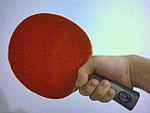 Shakehand grip (forehand)