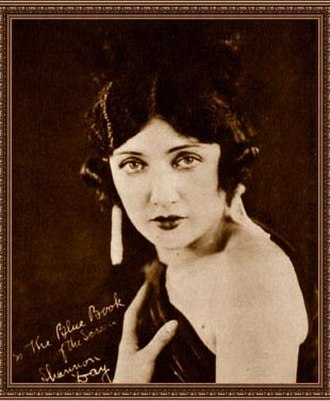 Shannon Day - Image: Shannon Day The Blue Book of the Screen