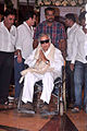 Shashi Kapoor at Rajesh Khanna's prayer meet 32.jpg