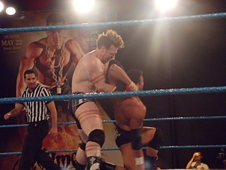 Sheamus - Sheamus lost the Florida Heavyweight Championship to Eric Escobar, who is seen here in an armbar