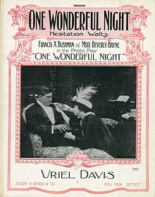 Sheet music cover - ONE WONDERFUL NIGHT (1914).jpg
