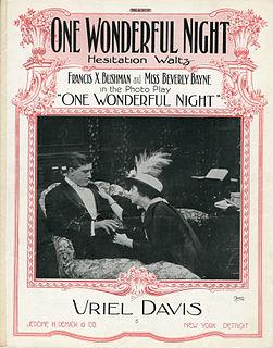 <i>One Wonderful Night</i> 1914 film by Elisha Helm Calvert