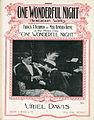 Sheet music cover - ONE WONDERFUL NIGHT (1914).jpg